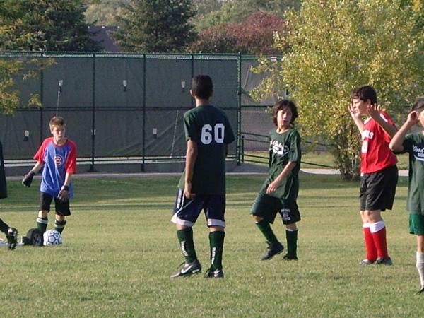 看Nate足球比賽