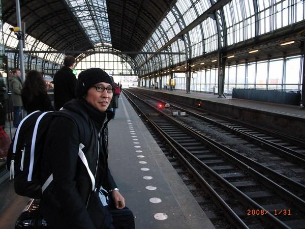 1/30 等啊等火車載我去鹿特丹