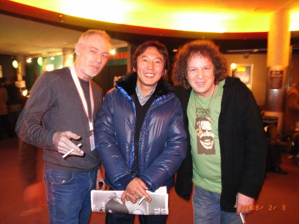 2/2 與知名荷蘭導演Karim Traïdia(右一)合照