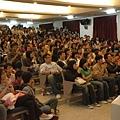 東華大學反應熱烈之塞爆演講廳