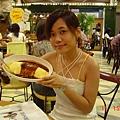 Venus shopping center的蛋包飯