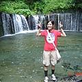 輕井澤 --白系的淹