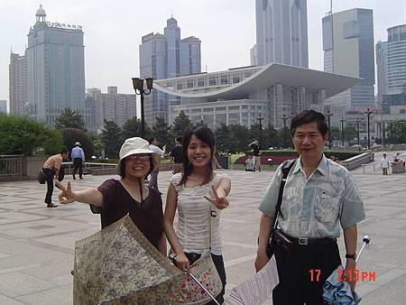 人民廣場的上海博物館