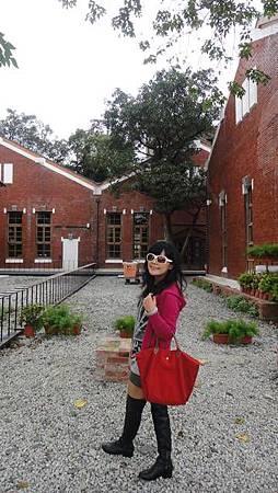 華山的紅磚區