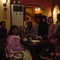和印度人在印度小廚過小年夜