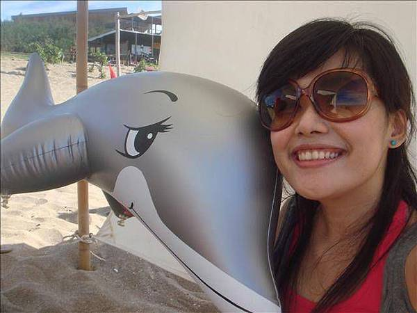 撿來的海豚