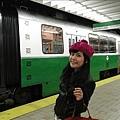 搭地鐵回家囉!