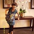 飯店內的台糖蘭花