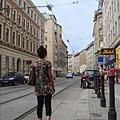 街道跟電車軌