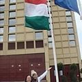 是匈牙利國旗!