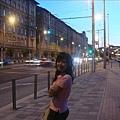 布達佩斯夜晚街頭