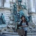 匈牙利皇宮噴泉