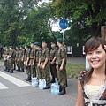 華沙市在為軍人節演練