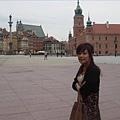 華沙老城區的城堡廣場
