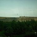 愛沙尼亞跟俄羅斯邊界堡壘