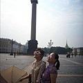 『宮殿廣場』上的亞歷山大柱