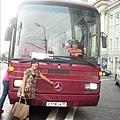 今天搭賓士巴士