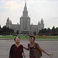 莫斯科大學為莫斯科最大的建築物