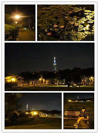 10/26晚上去南港公園運動,特別帶相機很瘋
