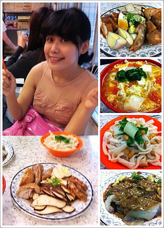 本來要吃的餐廳找不到,剛好又想吃麵,結果吃鼎鼎大名的南村小凱悅!