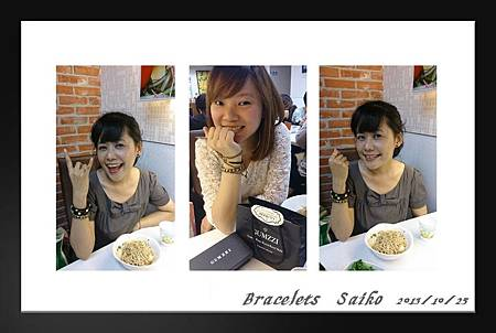 10/25 bracelets saiko!!! 最愛咪咪生日快樂!