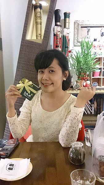11/18 謝謝依賢的生日小禮~ 生日有見到面真開心!