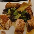 招牌放山雞,烤的不錯但就是雞,意外清淡