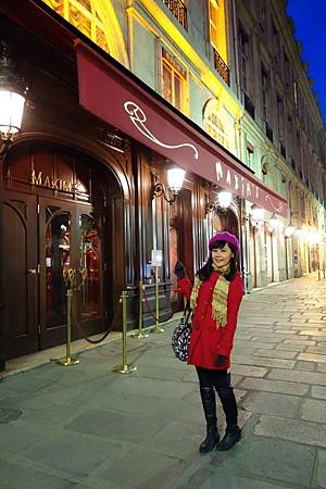 Maxim's!!! 好愛伍迪艾倫Midnight in Paris~