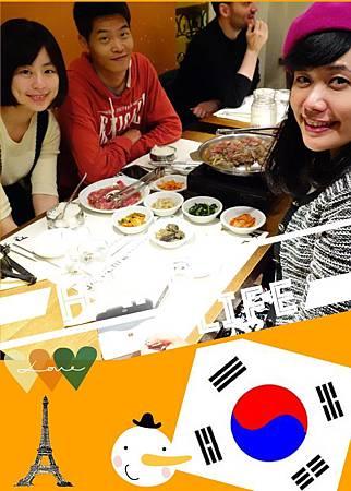 謝謝何博士介紹Jan Tchi 這麼好吃的韓國料理