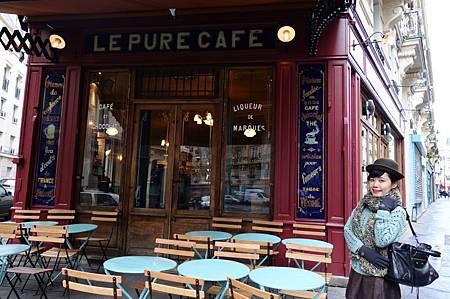 Le Pure Café (before sunset)
