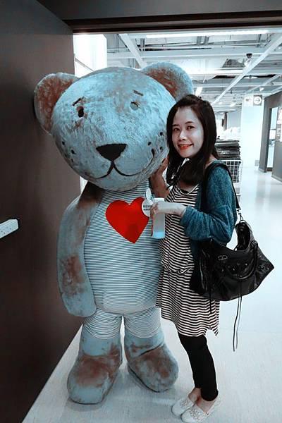 IKEA像老虎的熊