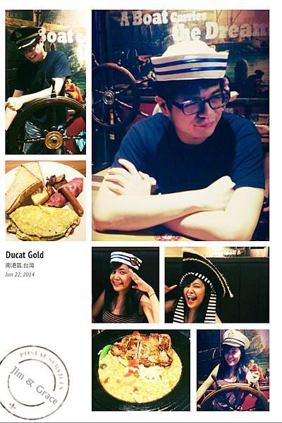 6/22  杜卡得金幣餐廳也不喜歡耶~主餐還行附餐點點點XDD
