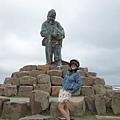 漁翁島石像