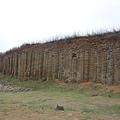大果葉玄武岩石柱