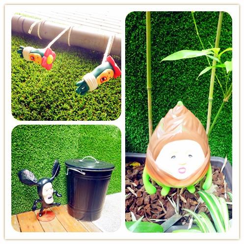 醜比頭的秘密花園輕食咖啡