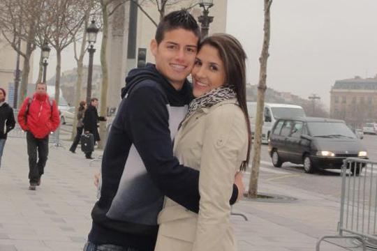 James-Rodriguez-y-Daniela-Ospina