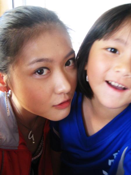 我和梁詠淇!!