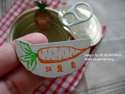 小鐵罐與手繪小圖卡03