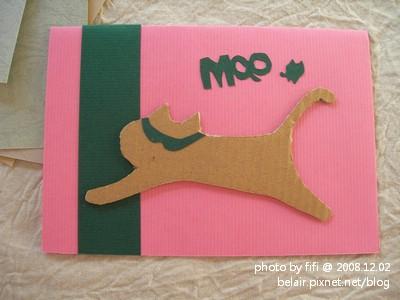 貓咪手工卡片03