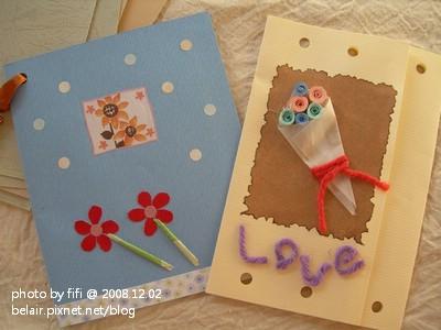 花朵手工卡片05