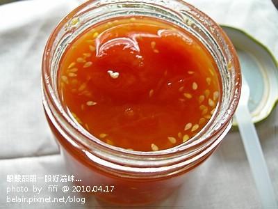 手工檸檬番茄果醬02