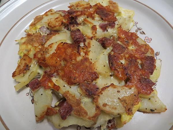 馬鈴薯火腿蛋煎餅