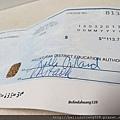 加拿大第一份薪水支票