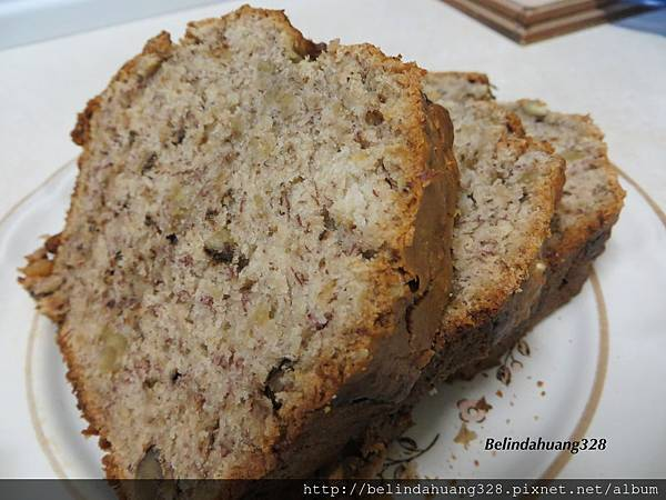 核桃香蕉麵包Walnut Banana Bread