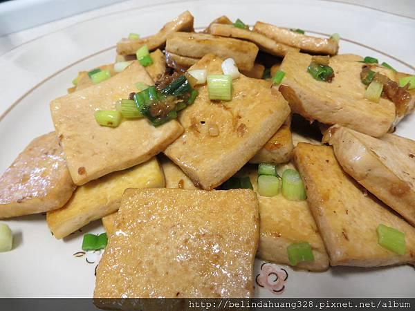 有家鄉味的蔥薑豆腐燒