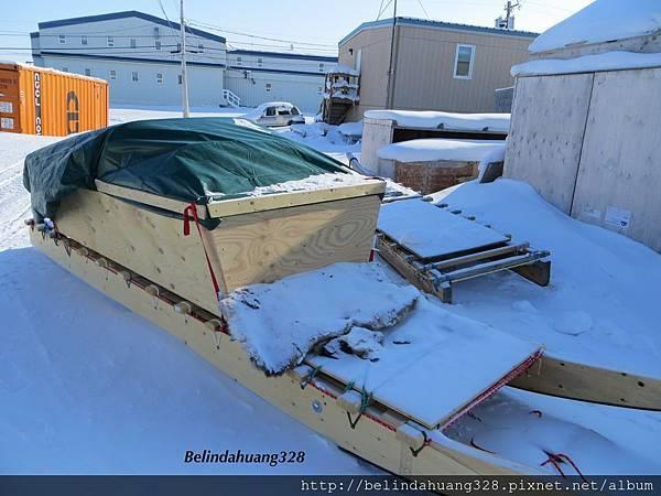 北極圈地帶使用的雪橇