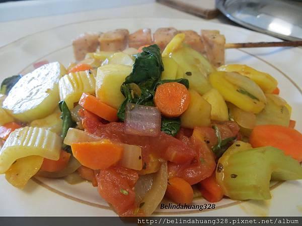 香料什錦蔬菜炒