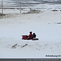 北極圈地帶的四輪機車奔馳1