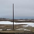 北極圈地帶2013.06.08風很大