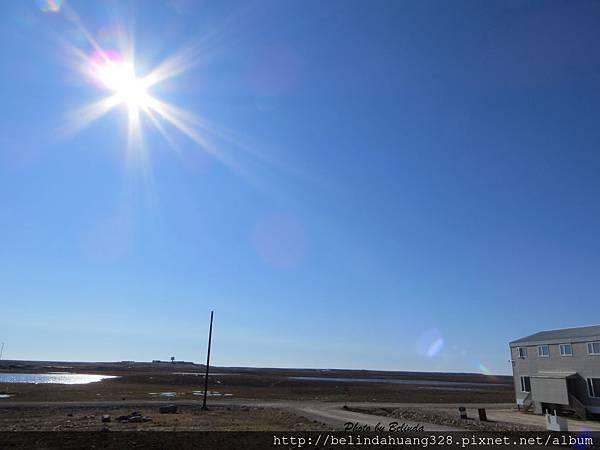 北極圈地帶夏日永晝